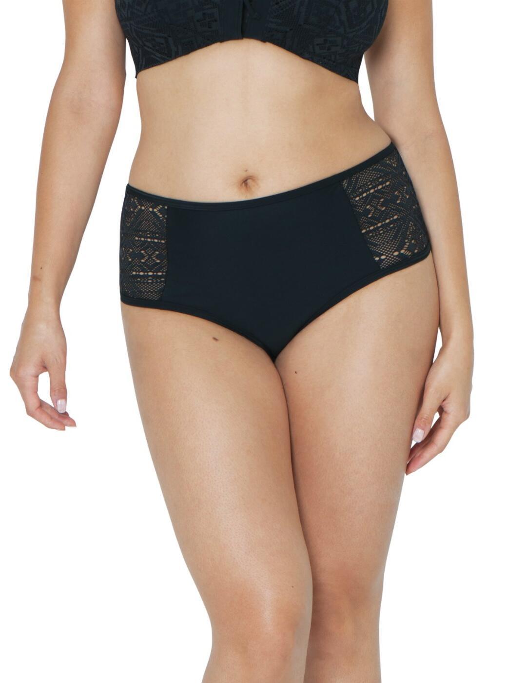 CS100250506 Curvy Kate Rush Bikini Short - CS100250506 Black