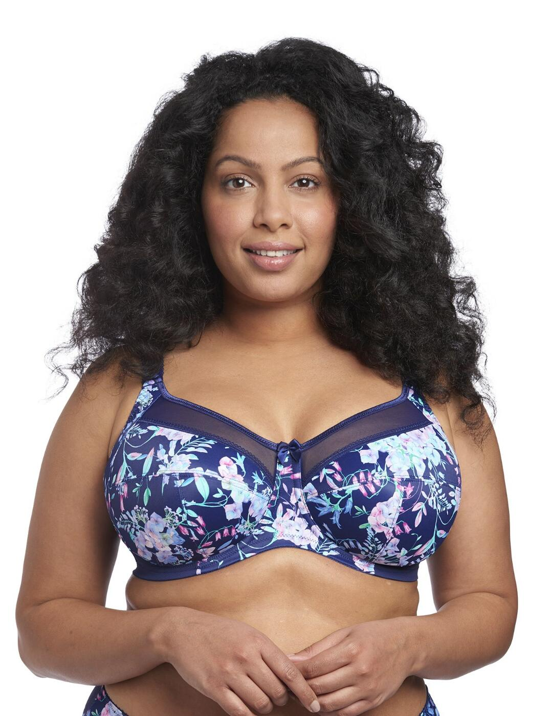 6162 Goddess Kayla Underwired Full Cup Bra - 6162 Bluebell