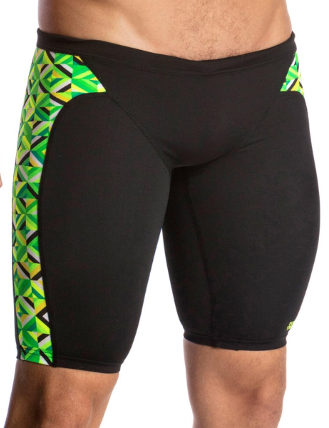 FT37M01627 Funky Trunks Mens Radioactive Training Jammers - FT37M01627 Radioactive