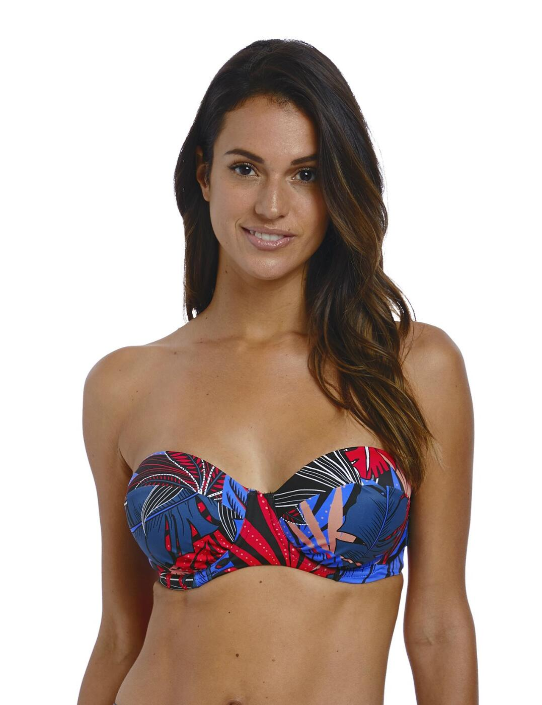 6622 Fantasie Monte Cristi Bandeau Bikini Top - 6622 Multi