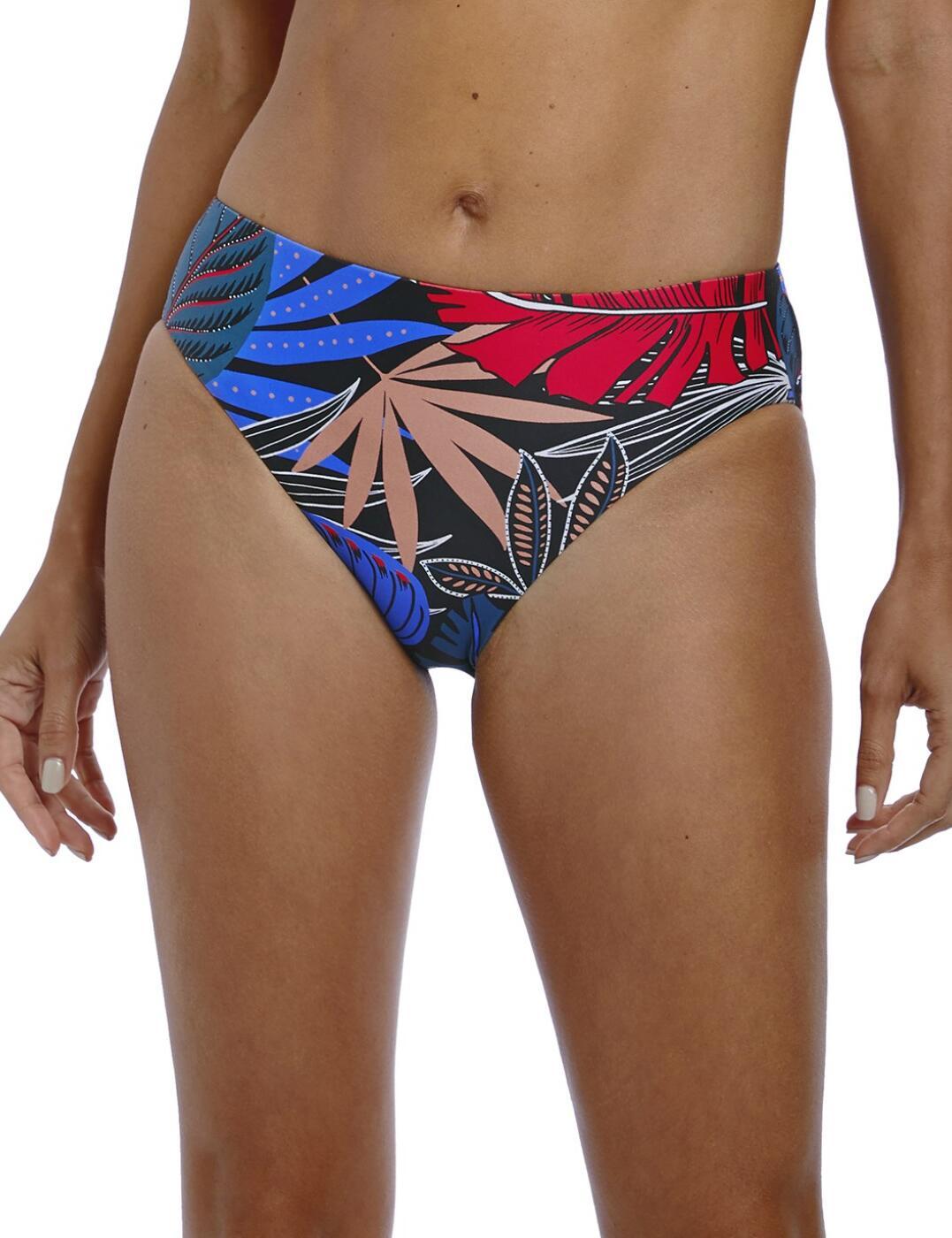 6625 Fantasie Monte Cristi Mid Rise Bikini Brief - 6625 Multi