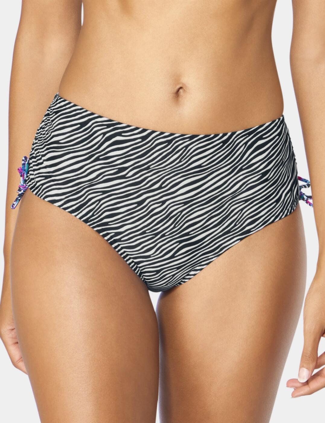 10195585 Triumph Mix & Match Midi Bikini Brief  - 10195585 Black/Combination