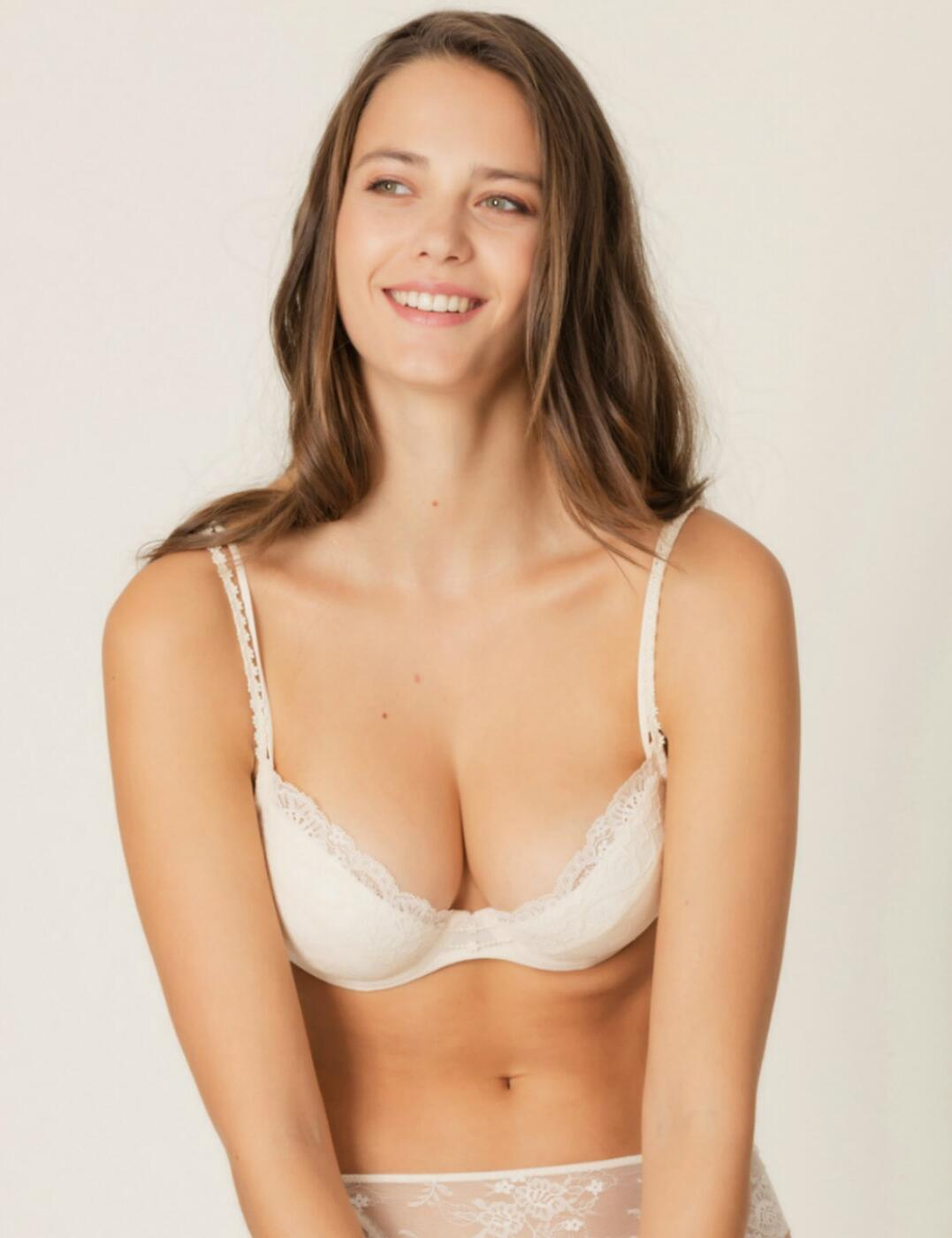 0102287 Marie Jo Madelon Underwired Push-up Bra - 0102287 Pearled Ivory