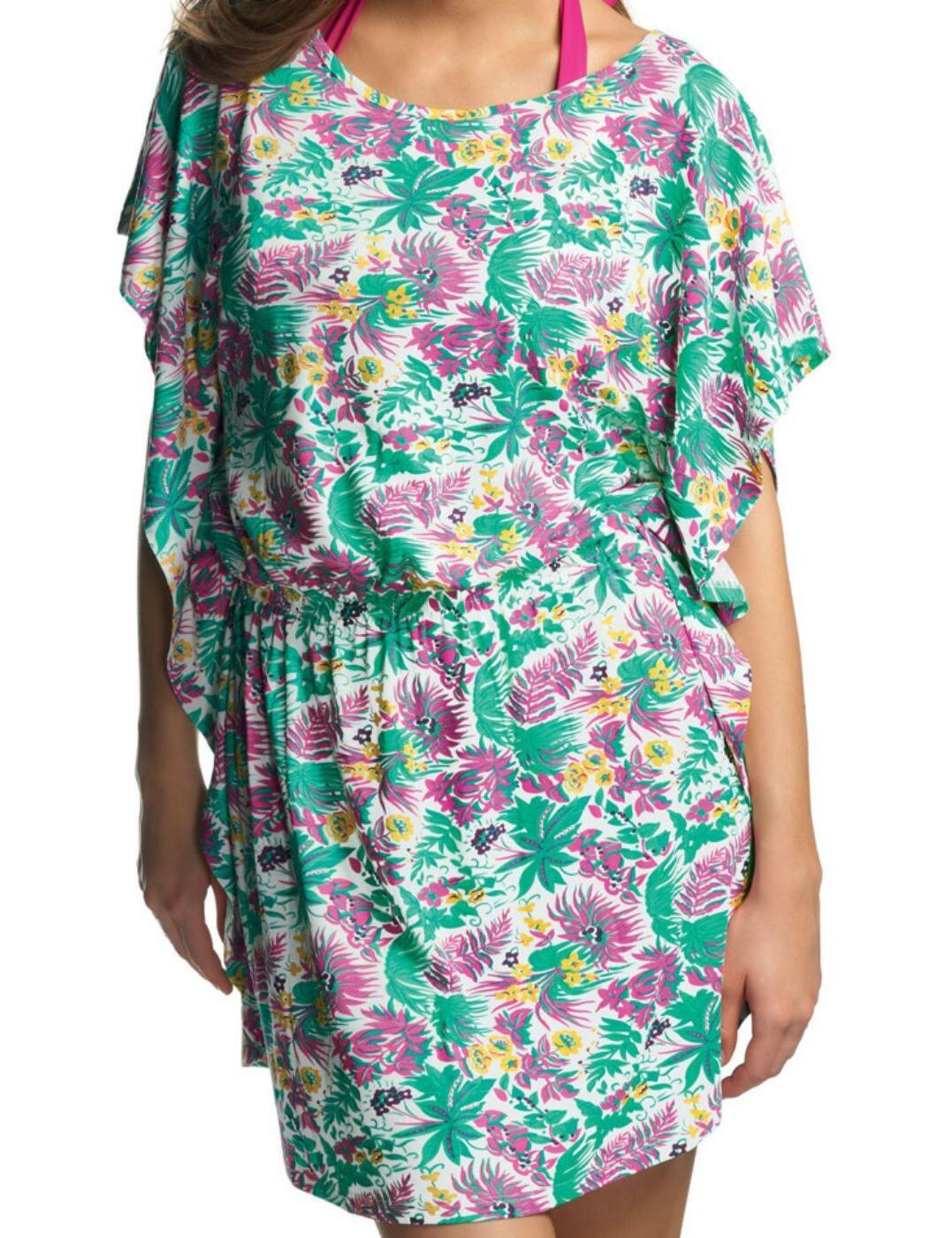 3617 Freya Girl Friday Tunic Beach Dress - 3167 Jade