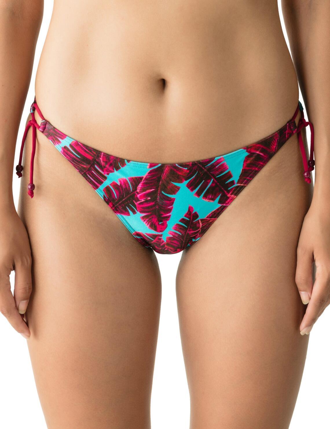 4005753 Prima Donna Swim Palm Springs Waist Rope Tie Side Bikini Brief - 4005753 Pink Flavor