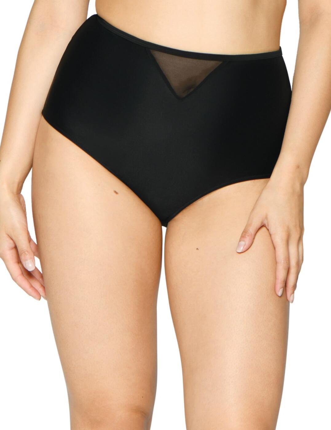 CS001505 Curvy Kate Sheer Class High Waist Bikini Brief - CS001505 Black