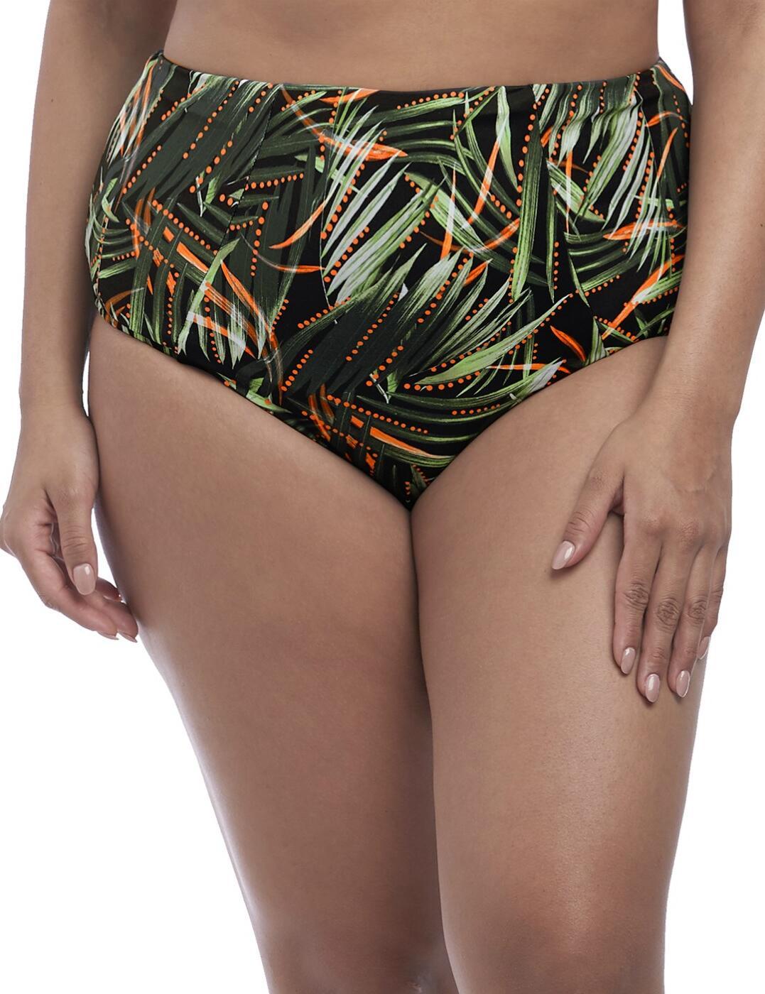 7165 Elomi Amazonia Classic Bikini Brief - 7165 Khaki