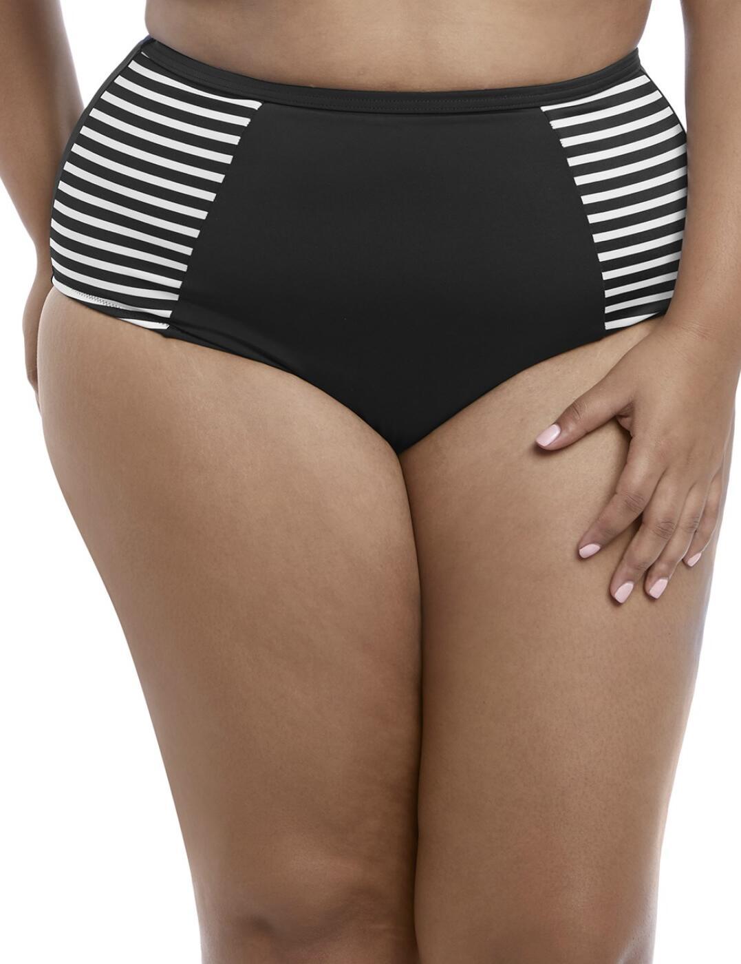 7635 Elomi Malibu Days Classic Bikini Brief - 7635 Black