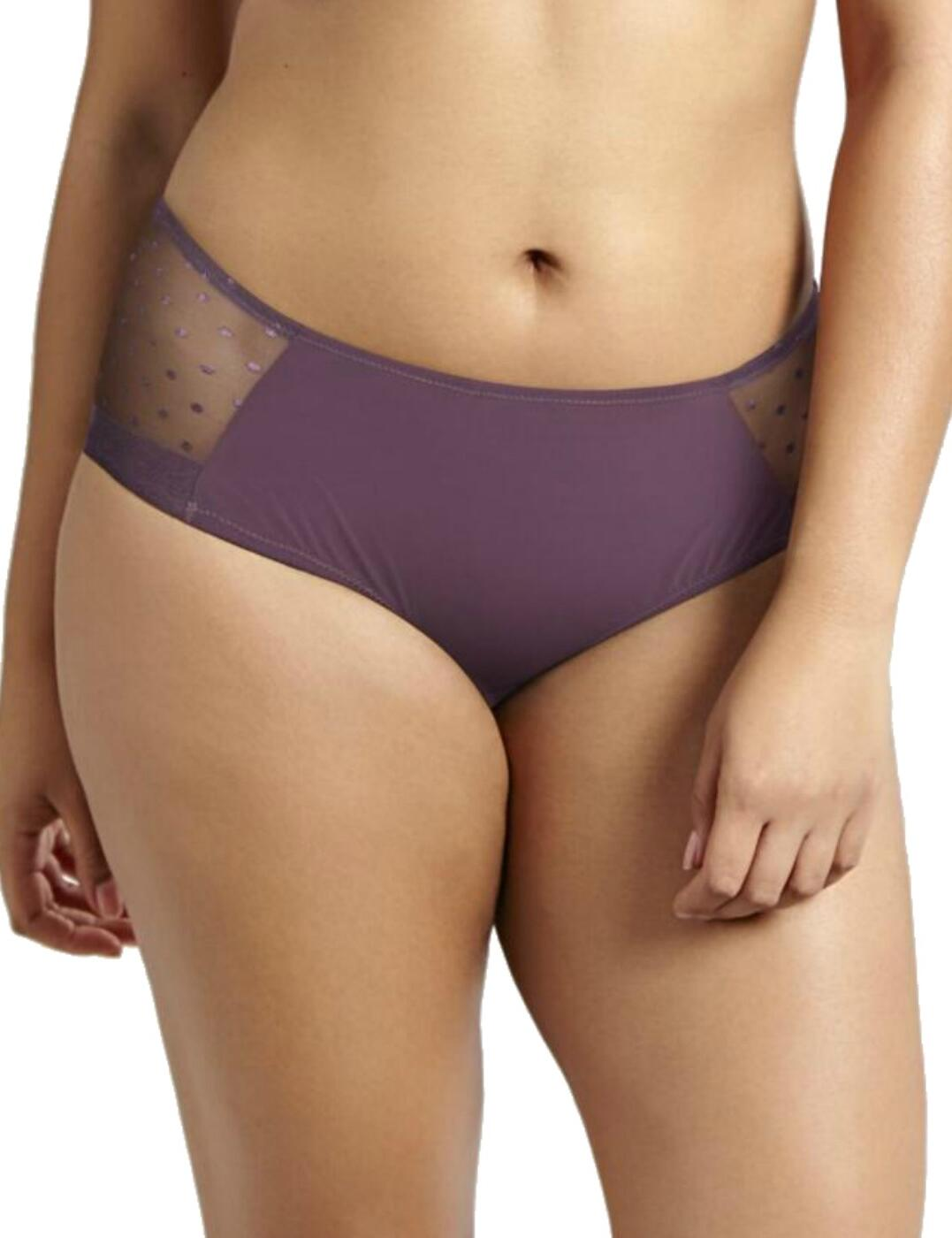 9868 Sculptresse By Panache Lula Midi Brief  - 9868 Rosehip