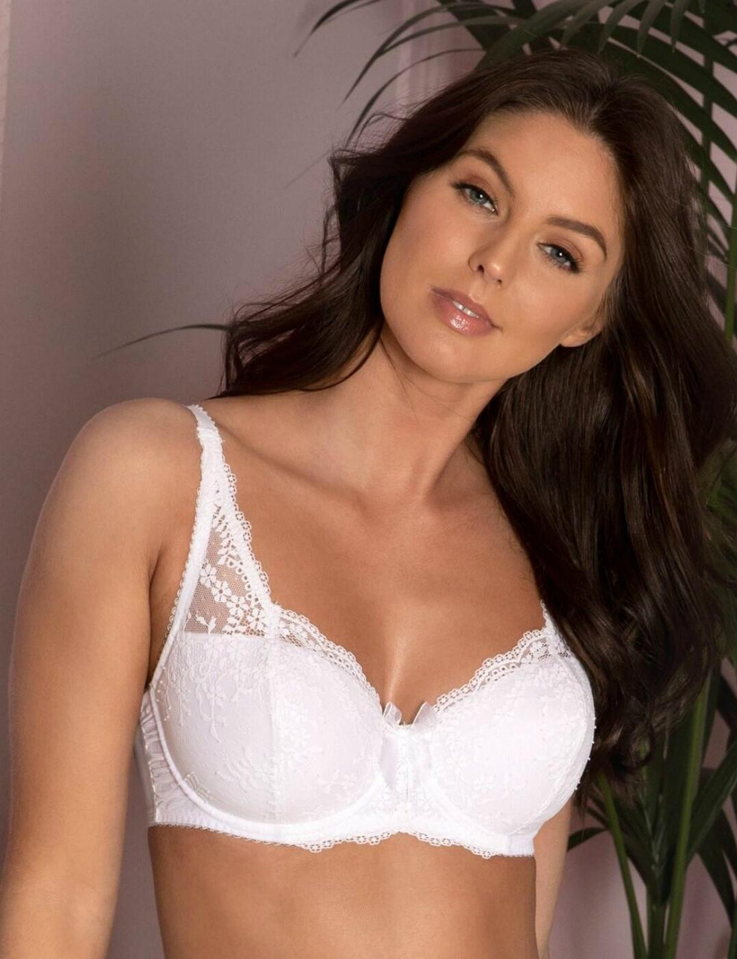 14800 Pour Moi Flora Lightly Padded Underwired Bra - 14800 White