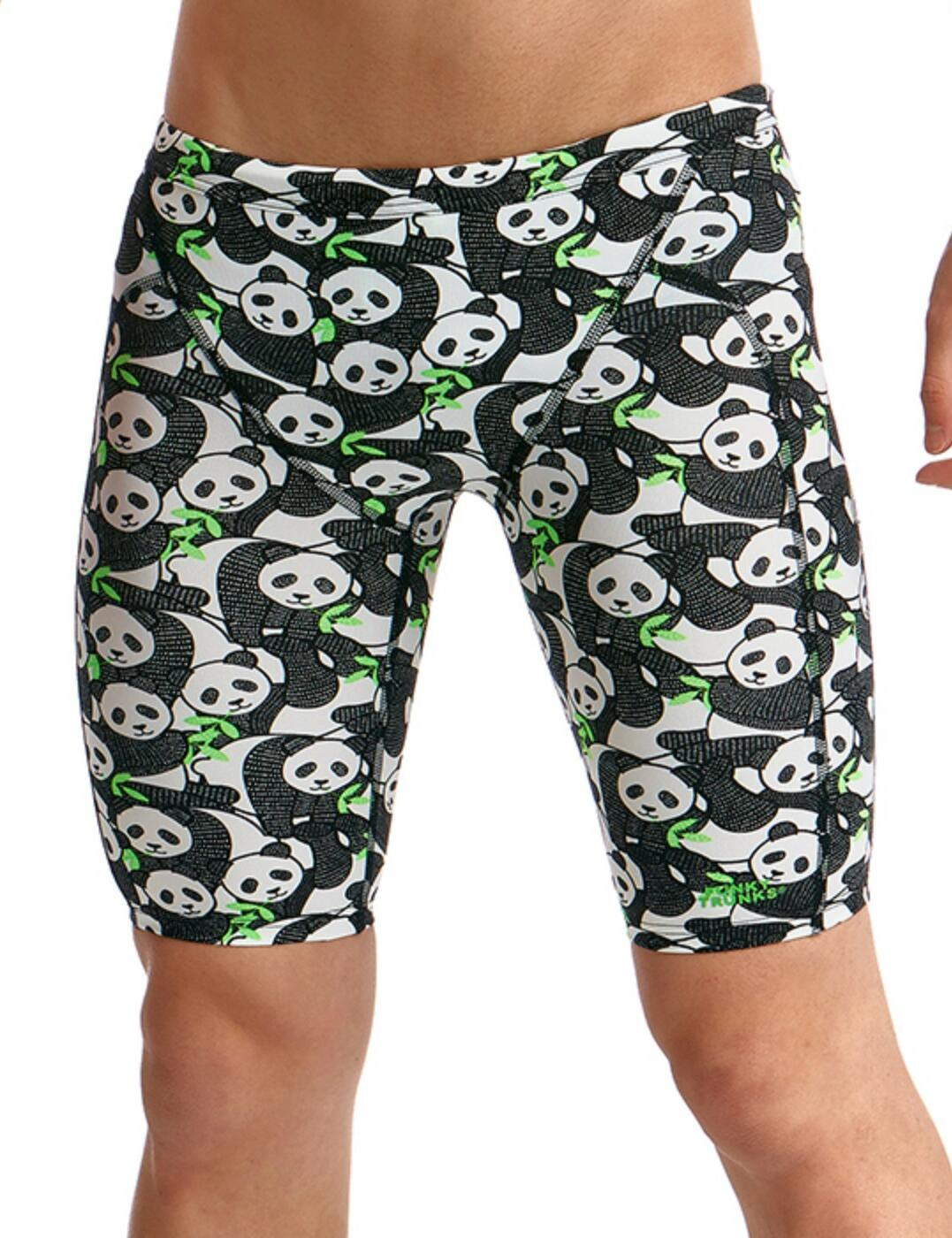 FTS003B Funky Trunks Boys Eco Training Jammers - FTS003B02326 Pandaddy