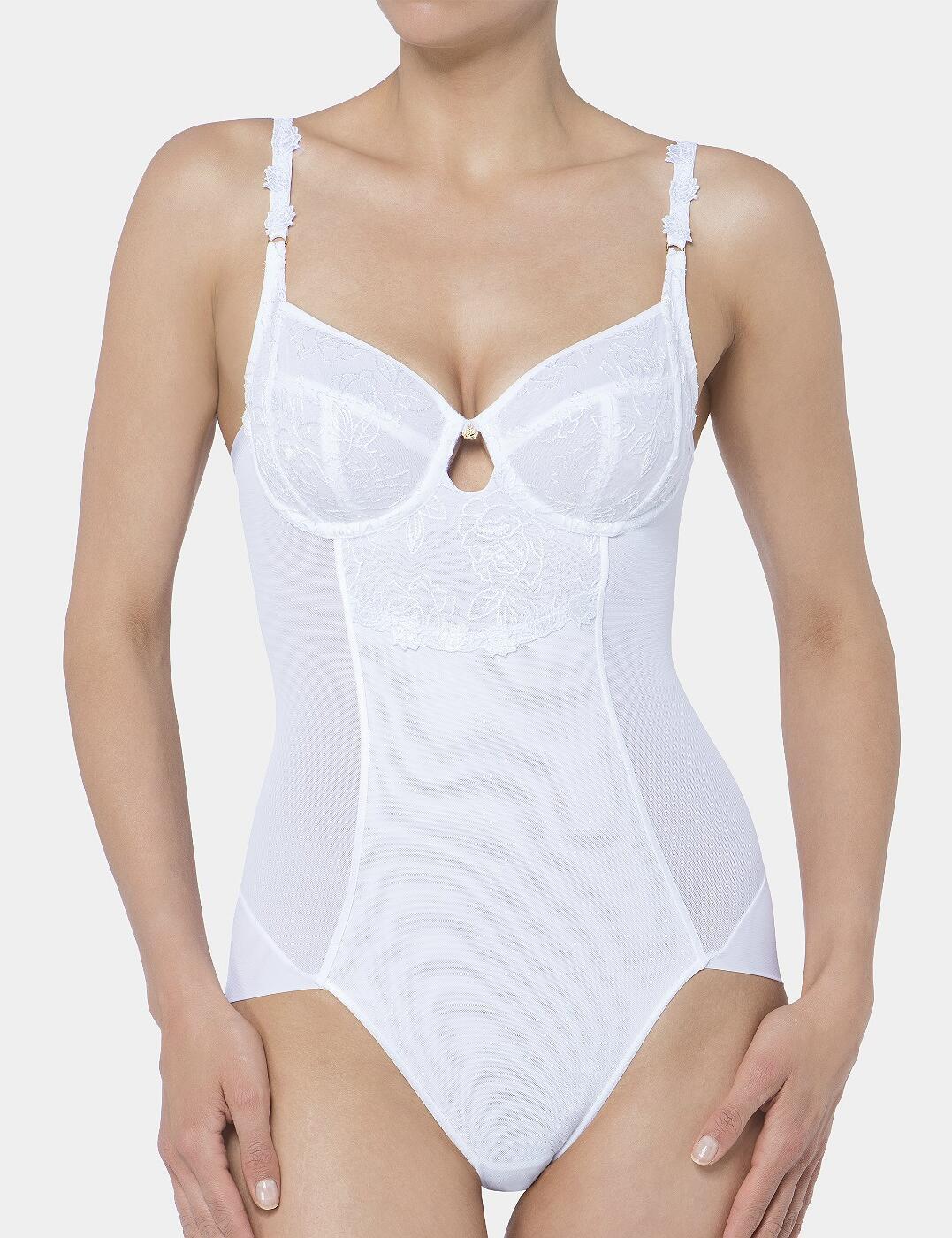 10181818 Triumph Wild Rose Florale Bodysuit - 10181818 White