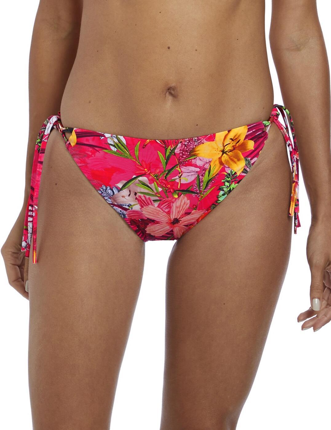 6585 Fantasie Anguilla Classic Tie Side Bikini Brief - 6585 Sunset