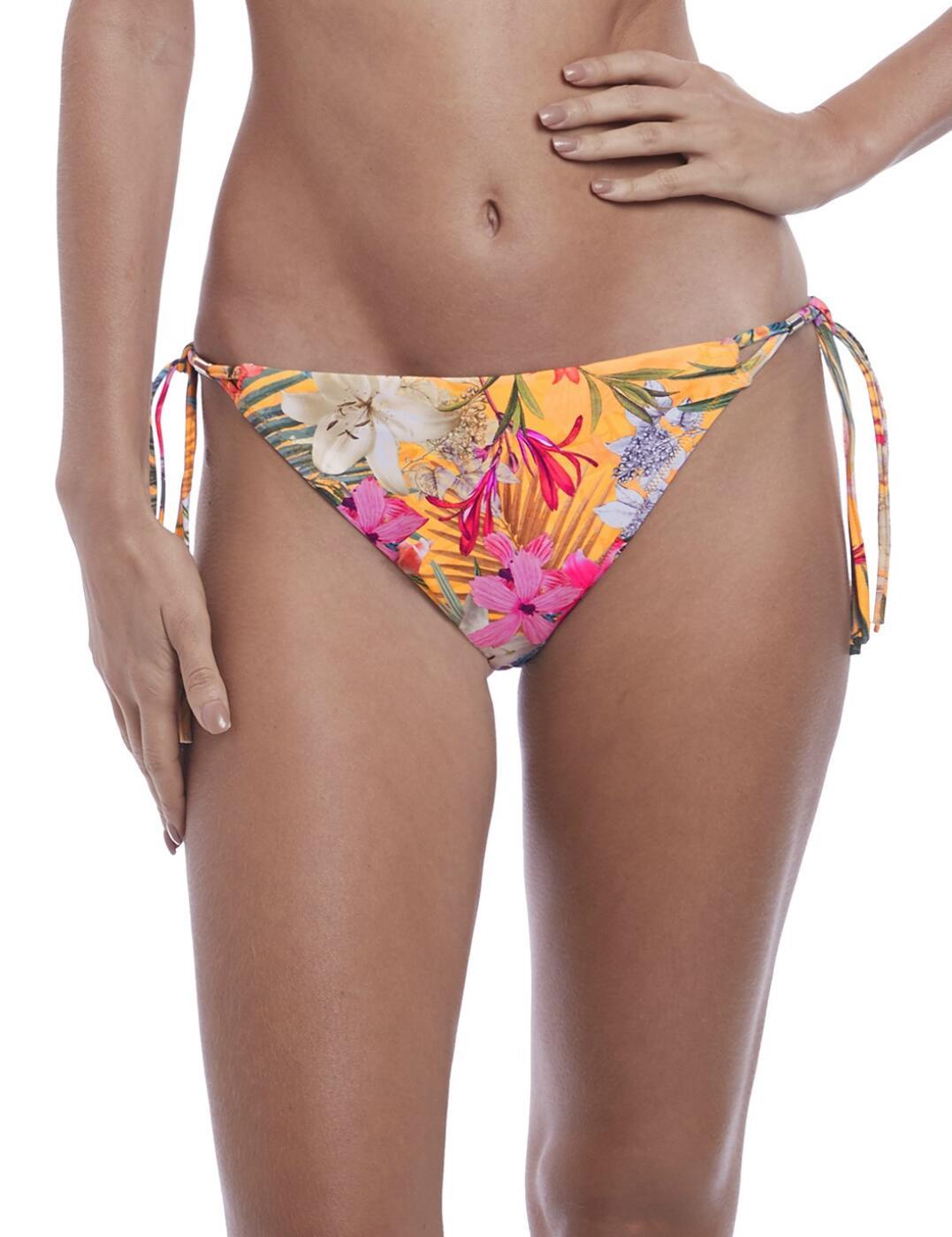 6585 Fantasie Anguilla Classic Tie Side Bikini Brief - 6585 Saffron
