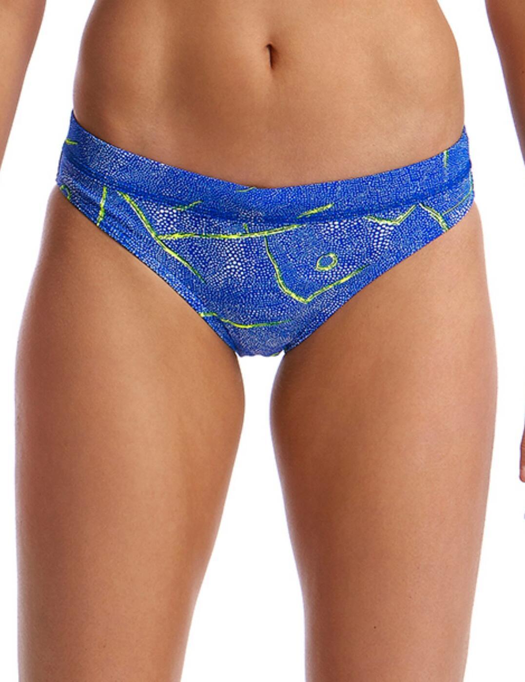 FS03L Funkita Ladies Sports Bikini Brief - FS03L02331 Sea Salt