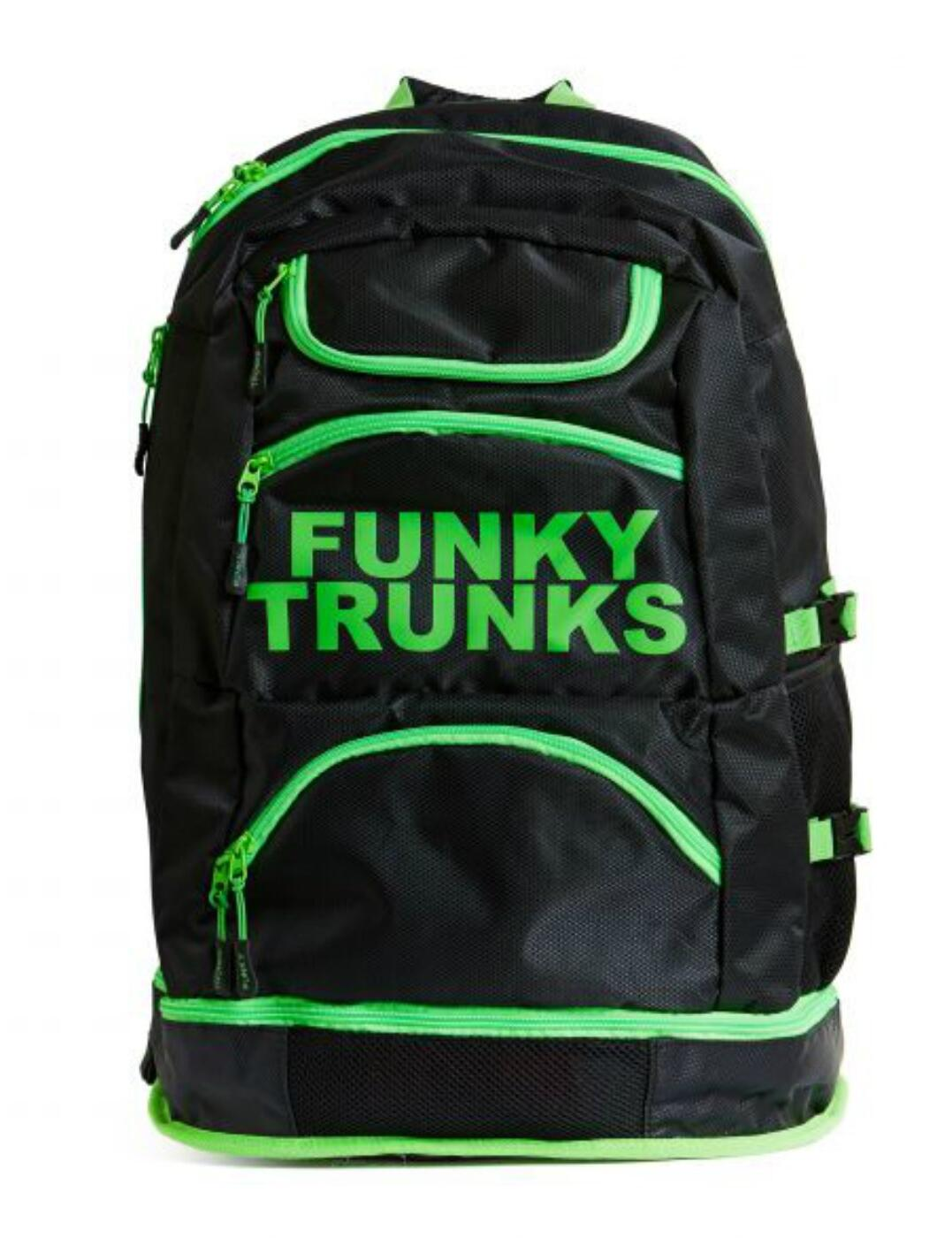 FTG003N Funky Trunks Accessories Elite Squad Backpack - FTG003N01893 Lime Light