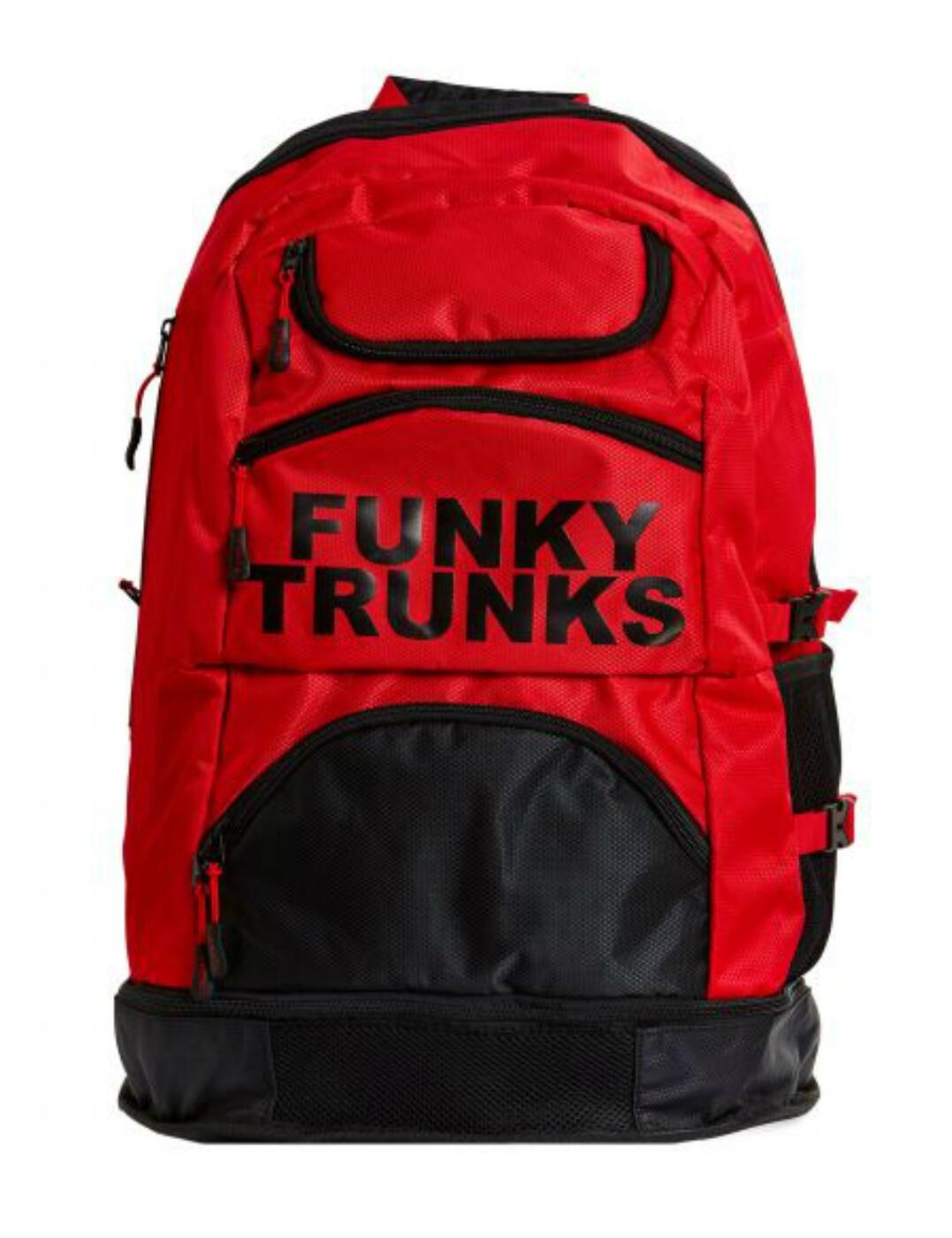 FTG003N Funky Trunks Accessories Elite Squad Backpack - FTG003N02020 Fire Storm
