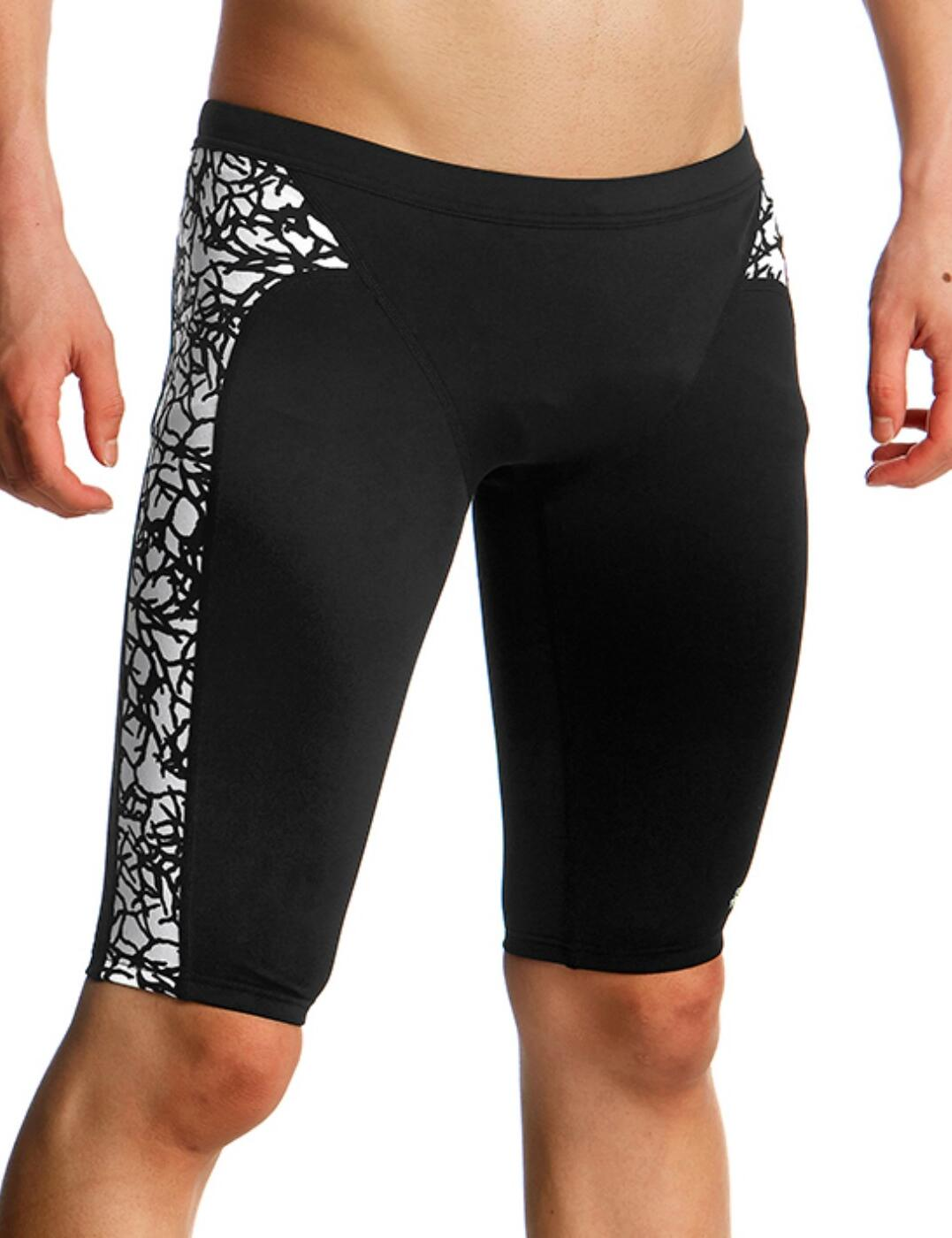 FT37B Funky Trunks Boys Training Jammers - FT37B01966 Bleached Coral
