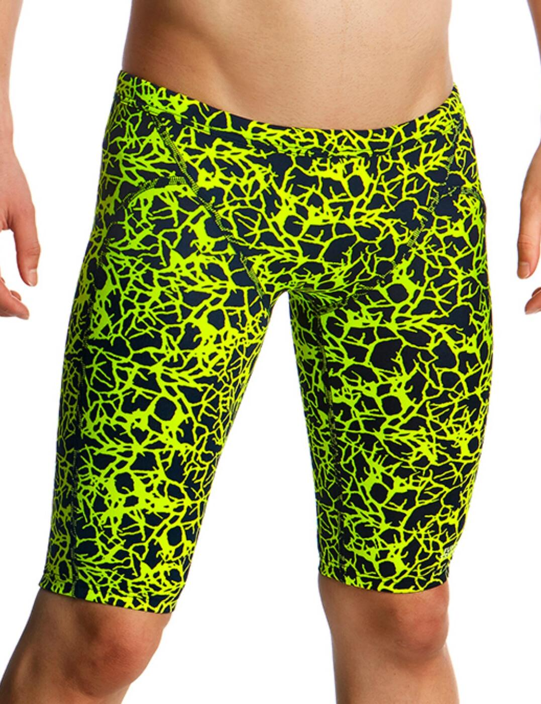 FT37B Funky Trunks Boys Training Jammers - FT37B01967 Coral Gold