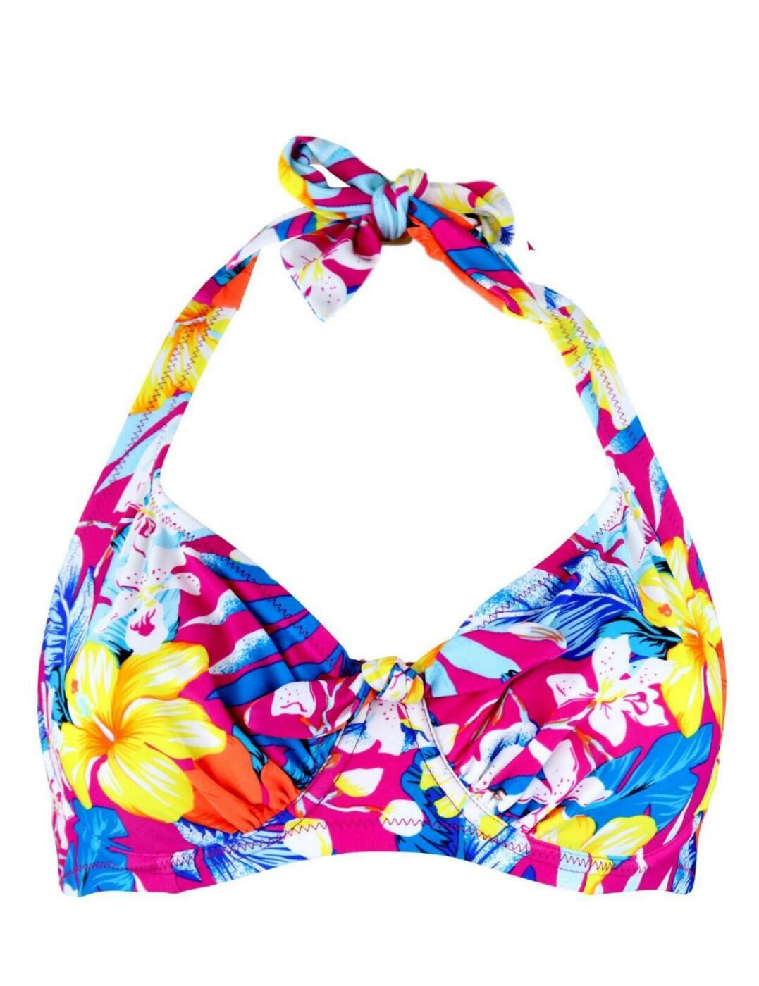 Pour Moi Heatwave Halterneck Bikini Top 86002 Womens Underwired Swimwear