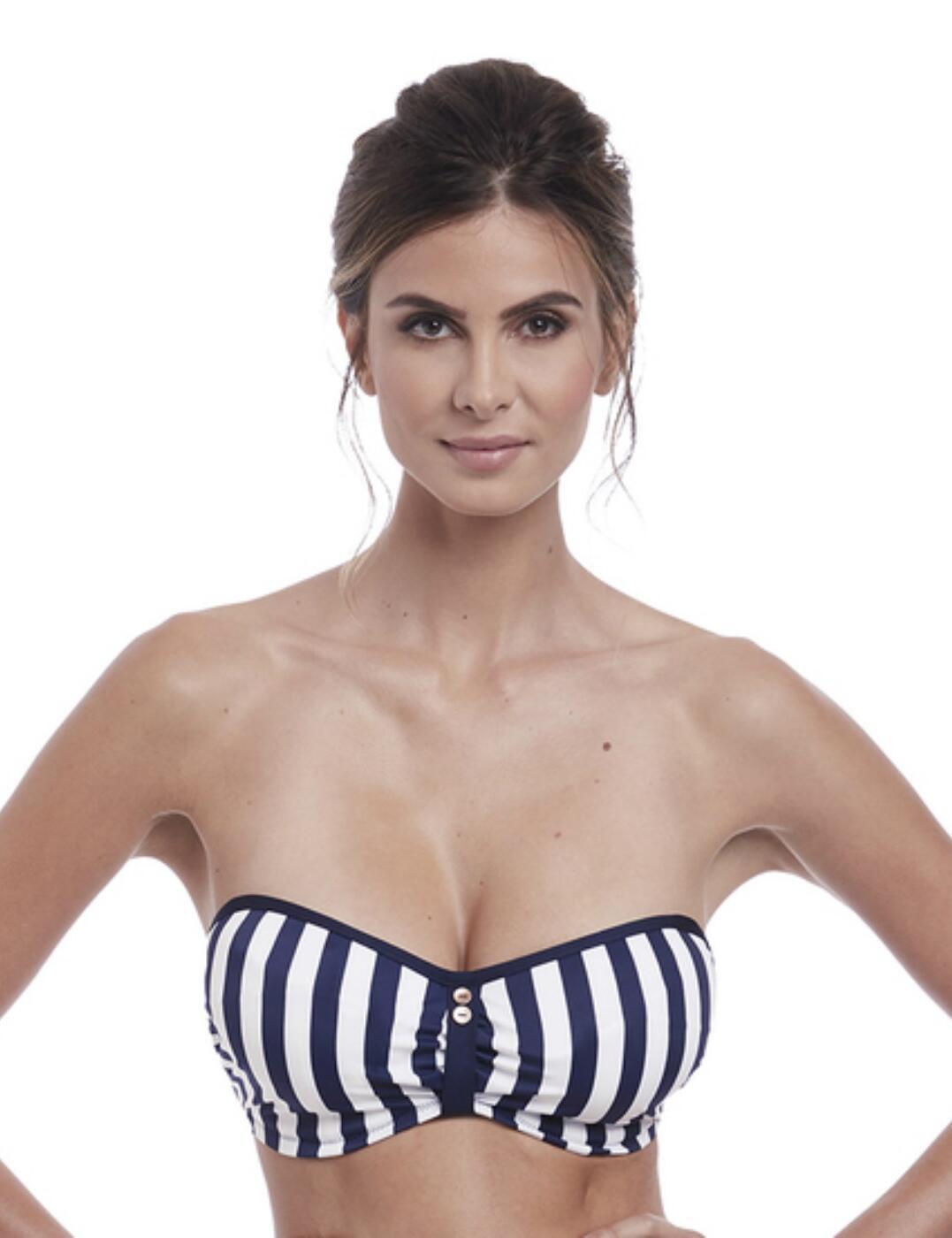 6743 Fantasie Cote D Azur Strapless Bikini Top - 6743 Ink