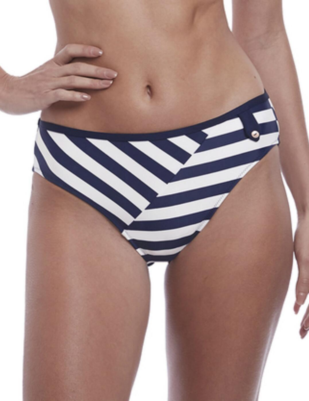 6746 Fantasie Cote D Azur Mid Rise Bikini Brief - 6746 Ink