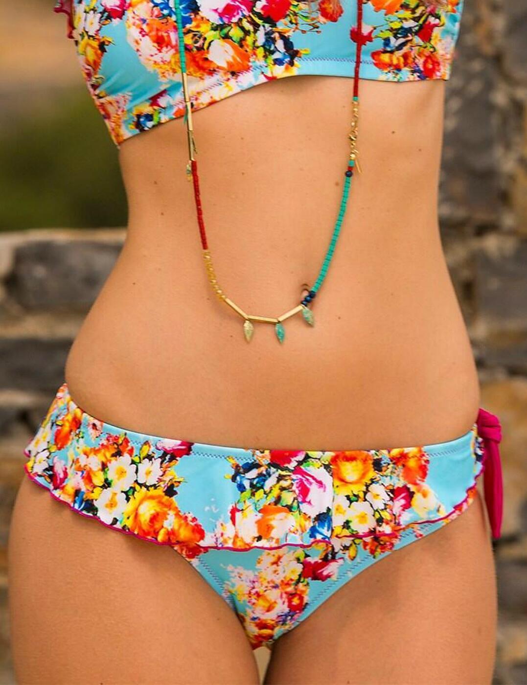 24003 Pour Moi Seville Frill Bikini Brief - 24003 Multi