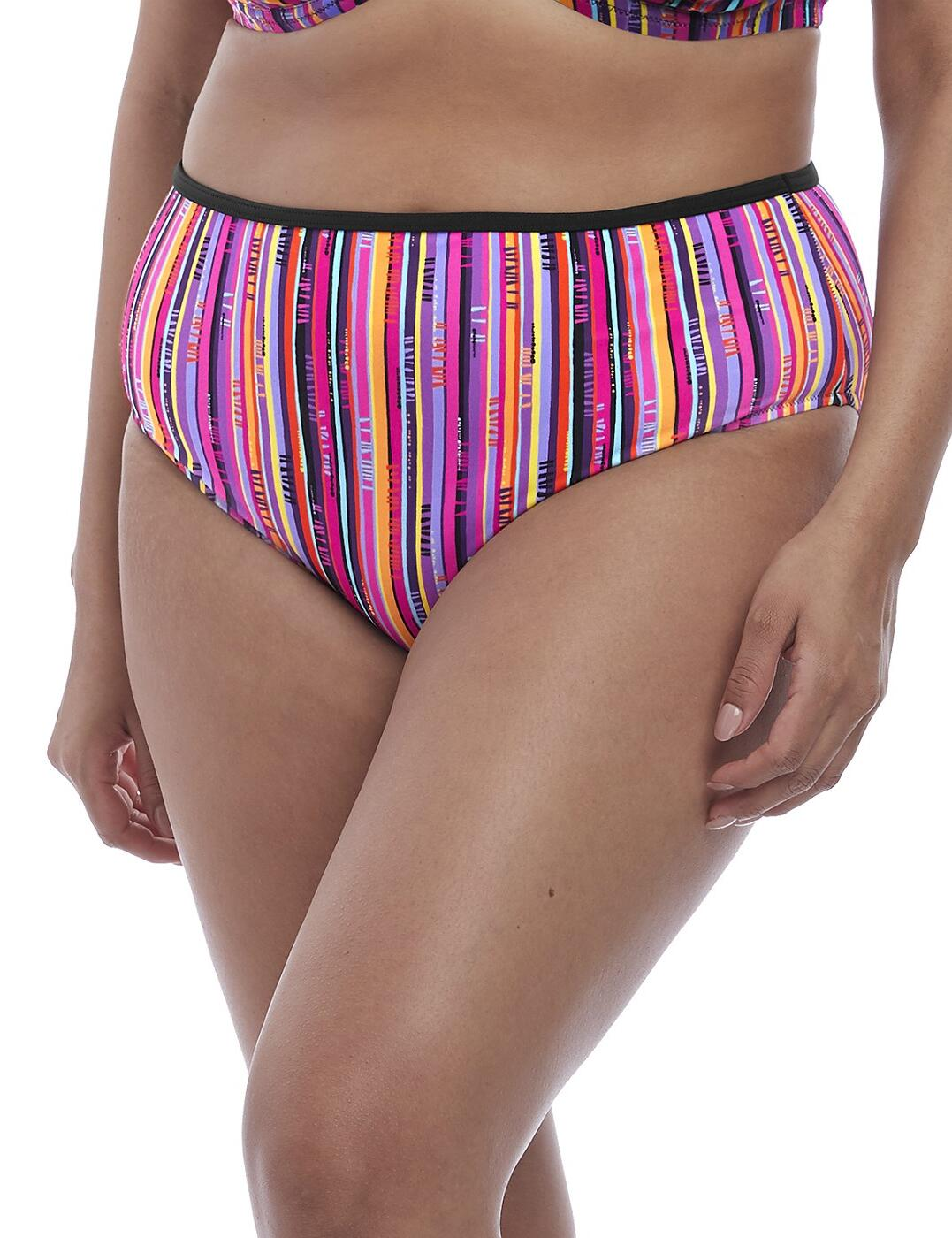 7185 Elomi Nomad Full Bikini Brief - 7185 Multi