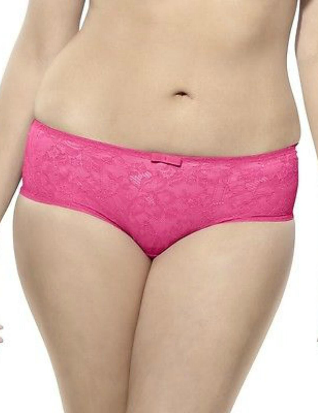 6934 Sculptress By Panache Pure Lace Brief - 6934 Hot Pink