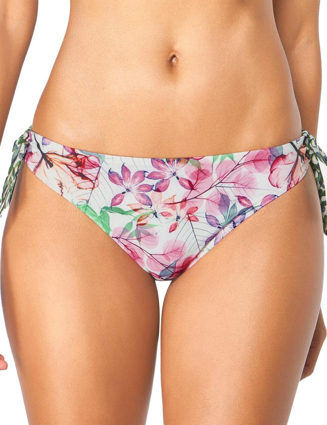 10195711 Triumph Delicate Flowers Tai Bikini Brief - 10195711 Pink/Light Combination