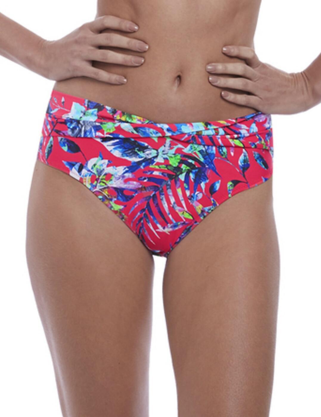 6543 Fantasie Fiji Classic Twist Bikini Brief  - 6543 Azalea