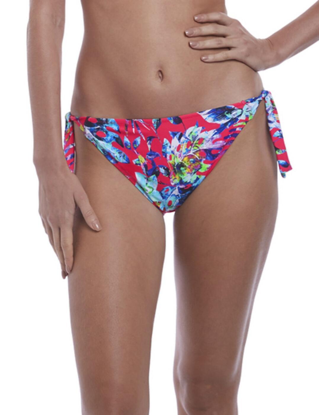 6545 Fantasie Fiji Classic Tie Side Bikini Brief  - 6545 Azalea