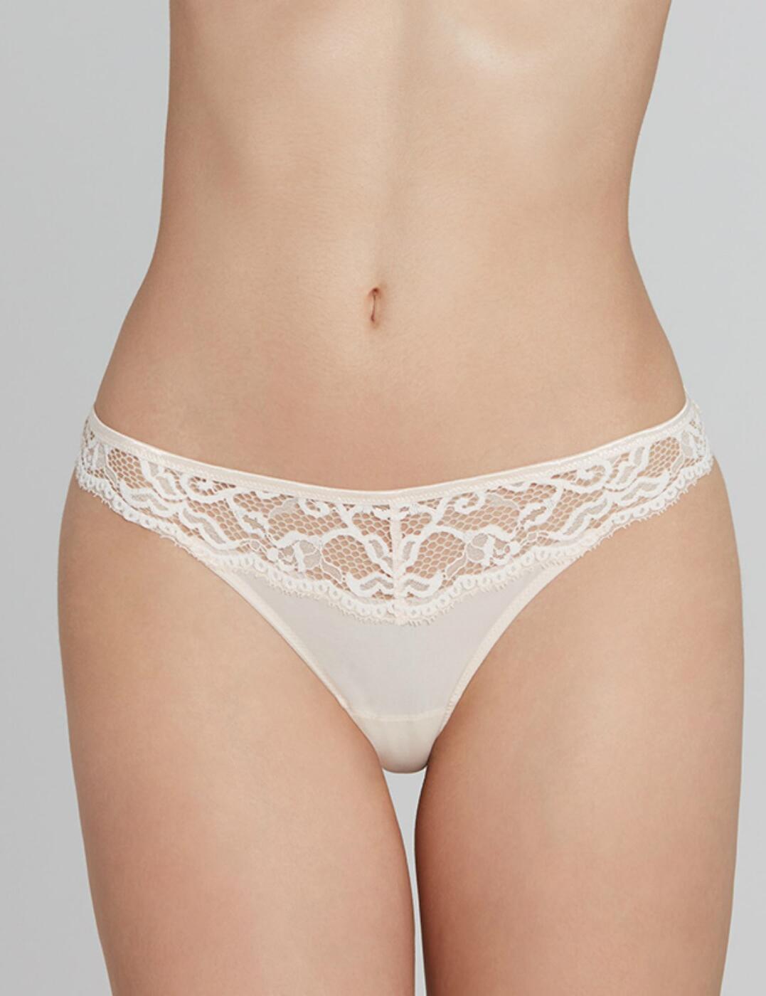 00242 LOU Belle De Lou String Thong - 00242 Nude