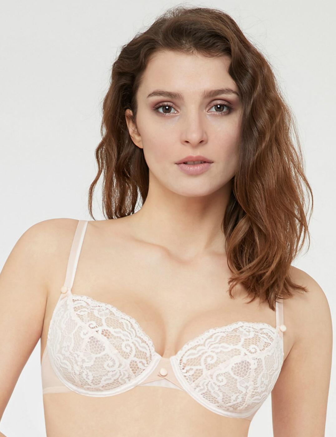 14242 LOU Belle De Lou Support Bra - 14242 Nude