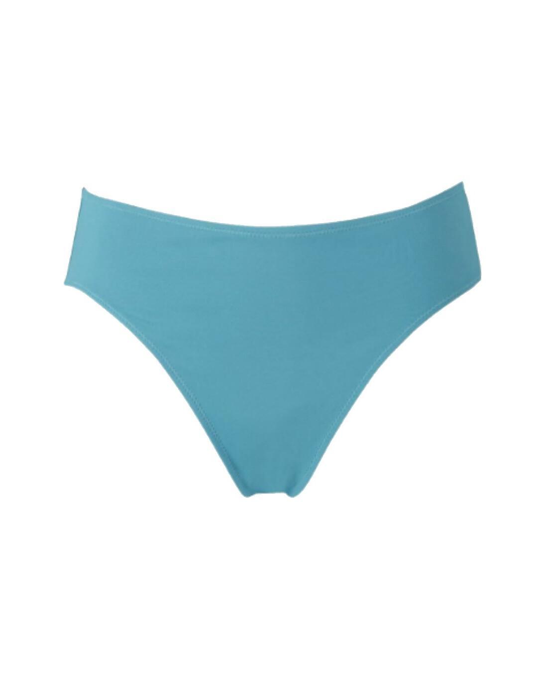 5485 Fantasie Montreal Mid Rise Plain Bikini Brief - 5485 Ocean