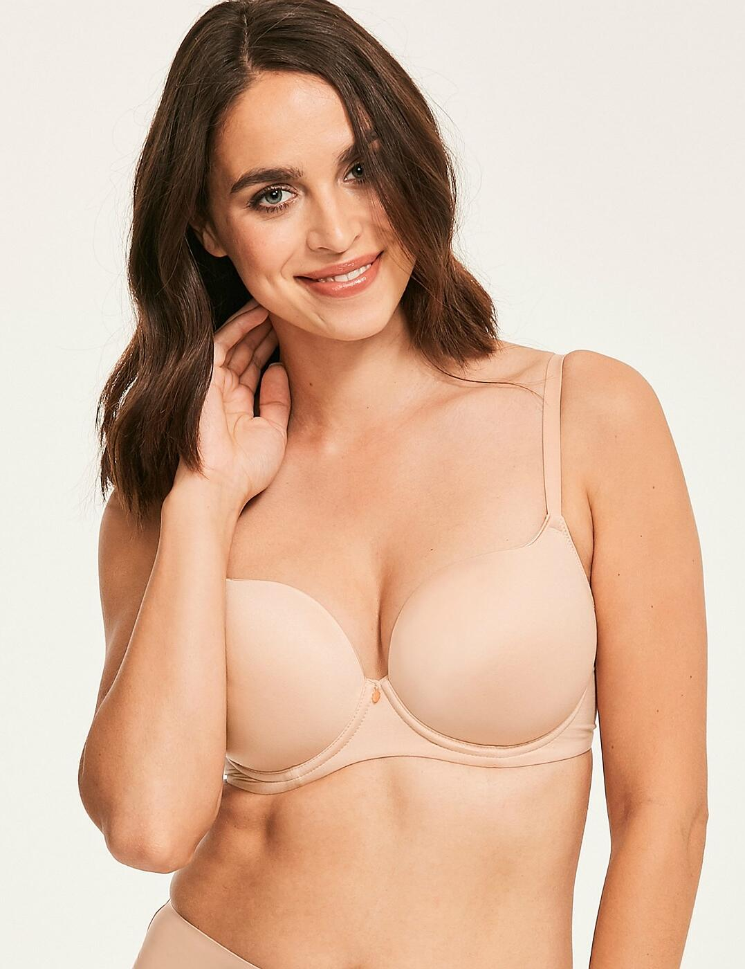 1831022 Figleaves Smoothing Sweetheart T-Shirt Bra - 1831022 Nude