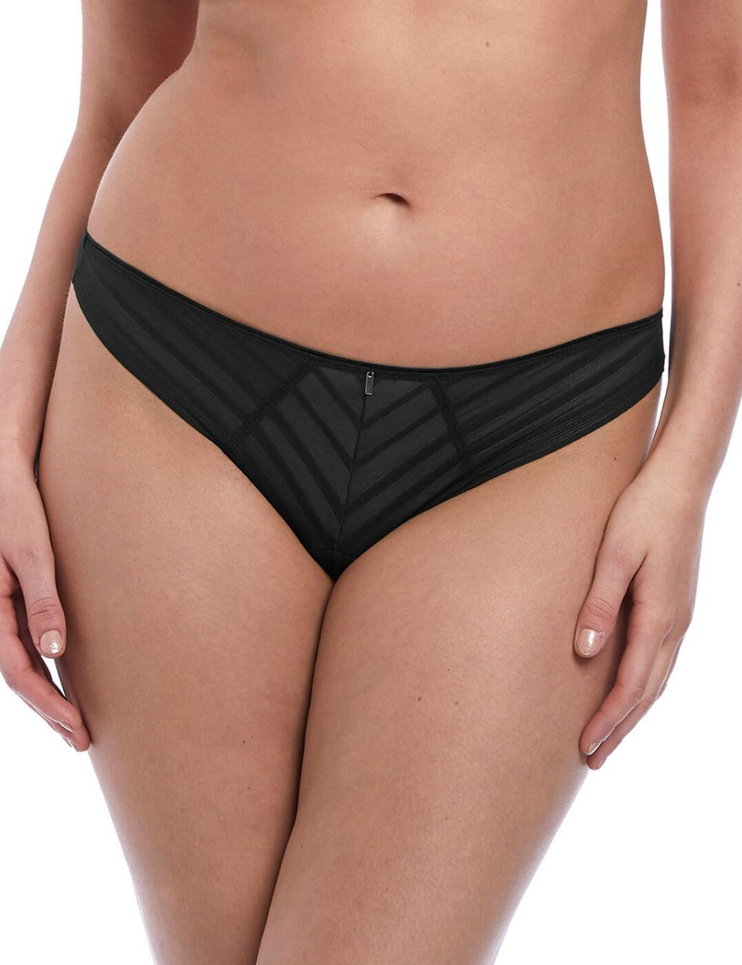 3167 Freya Cameo Brazilian Brief - 3167 Black