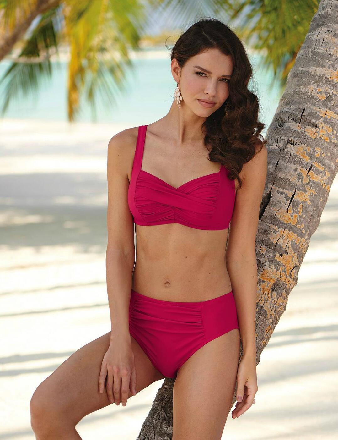 8403 Anita Elle Bikini Set - 8403 Magenta
