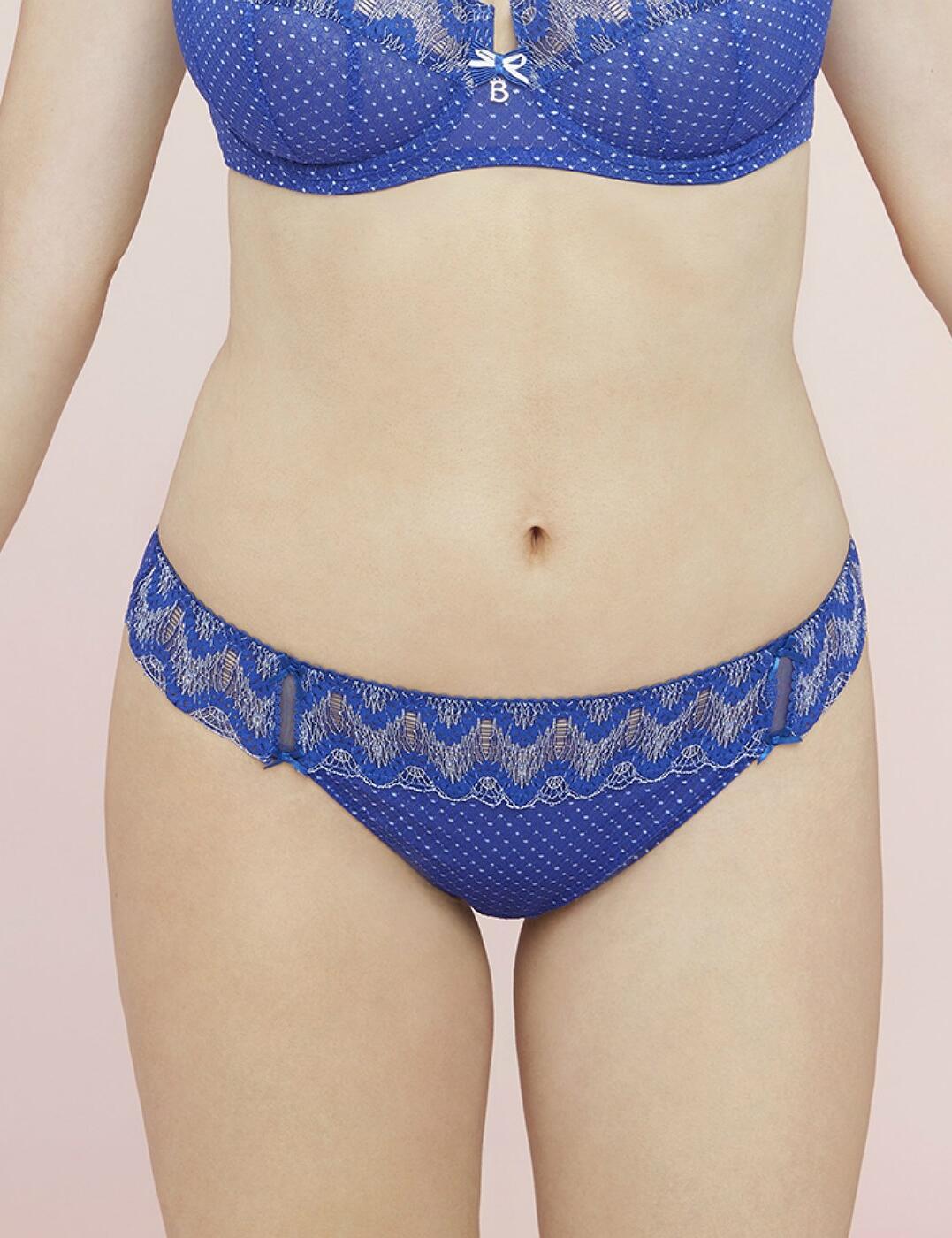 Bestform Seville Short Brief 07461 New Lingerie Womens Knickers Blue