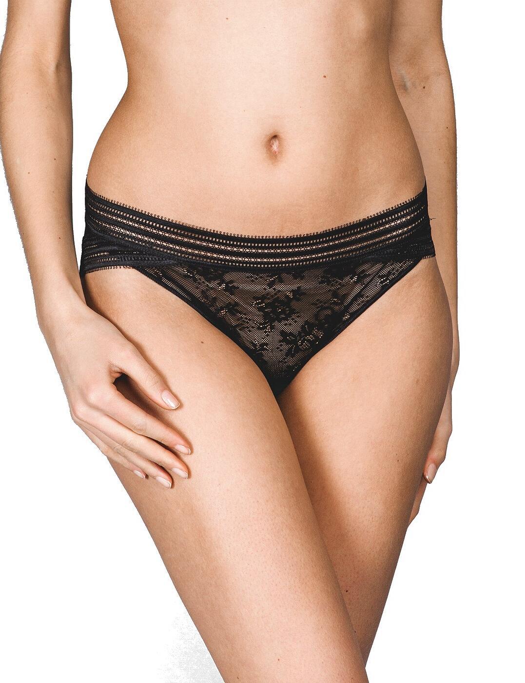 16463 Maison Lejaby Miss Lejaby Bikini Style Brief - 16463 Noir