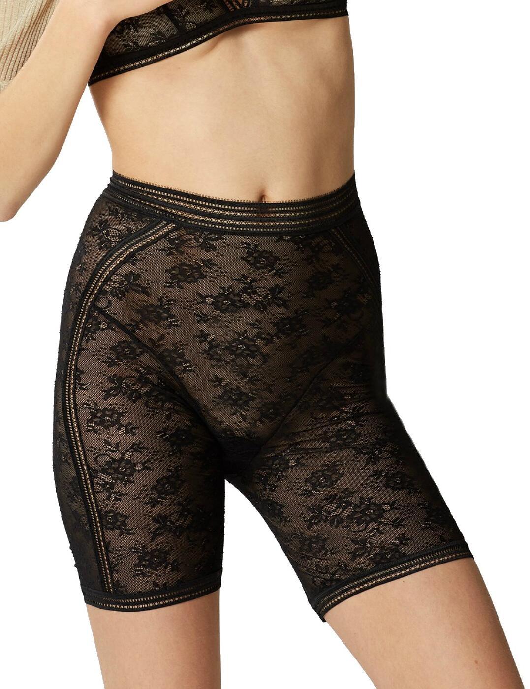 16458 Maison Lejaby Miss Lejaby Long Leg Panty - 16458 Noir