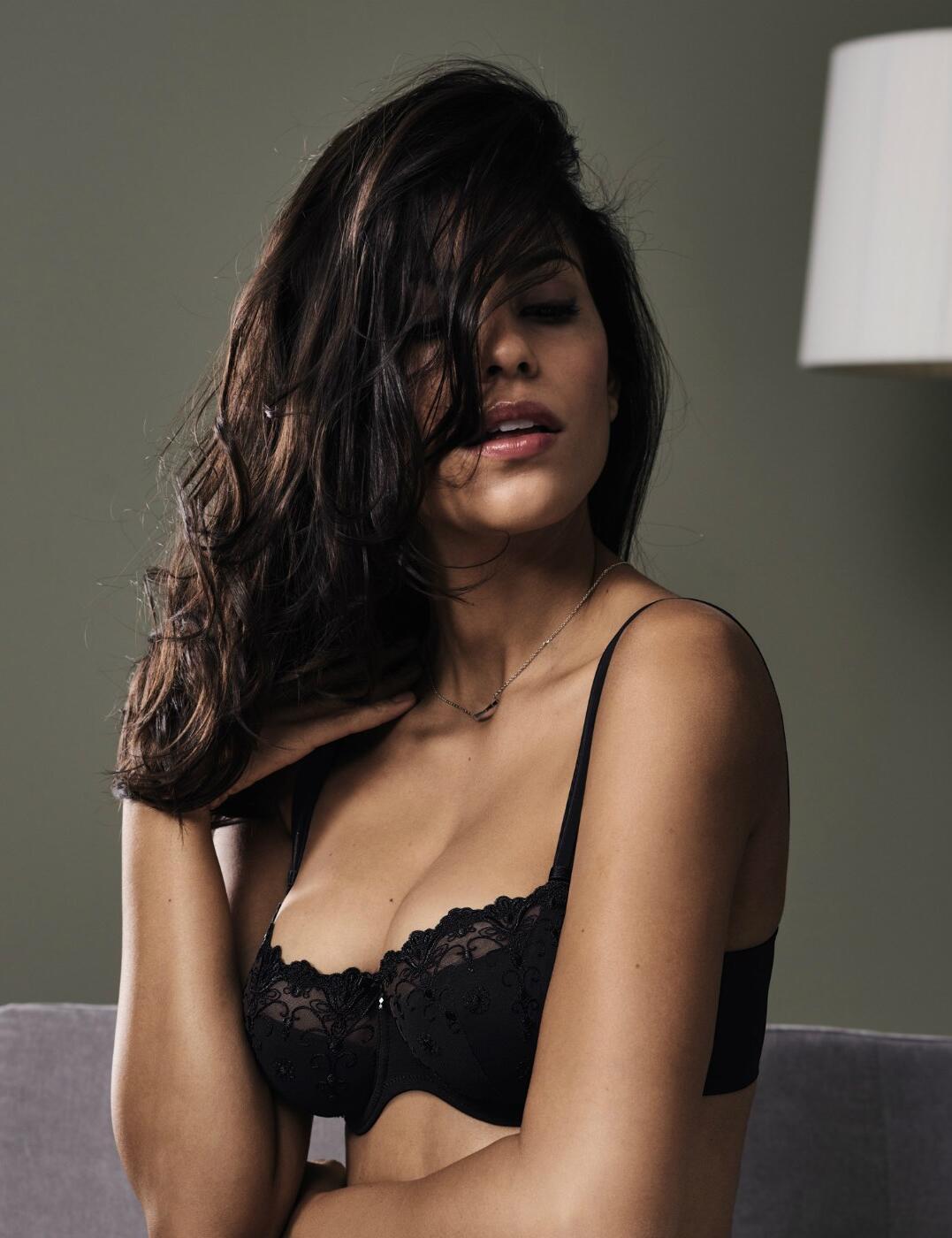 5608 Rosa Faia By Anita Edelweiss Balconette Bra - 5608 Black
