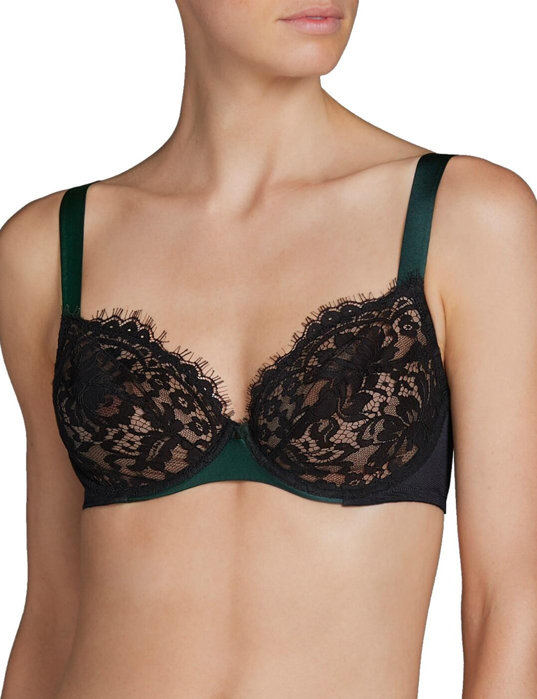 3308011 Andres Sarda Megeve Full Cup Bra - 3308011 Black