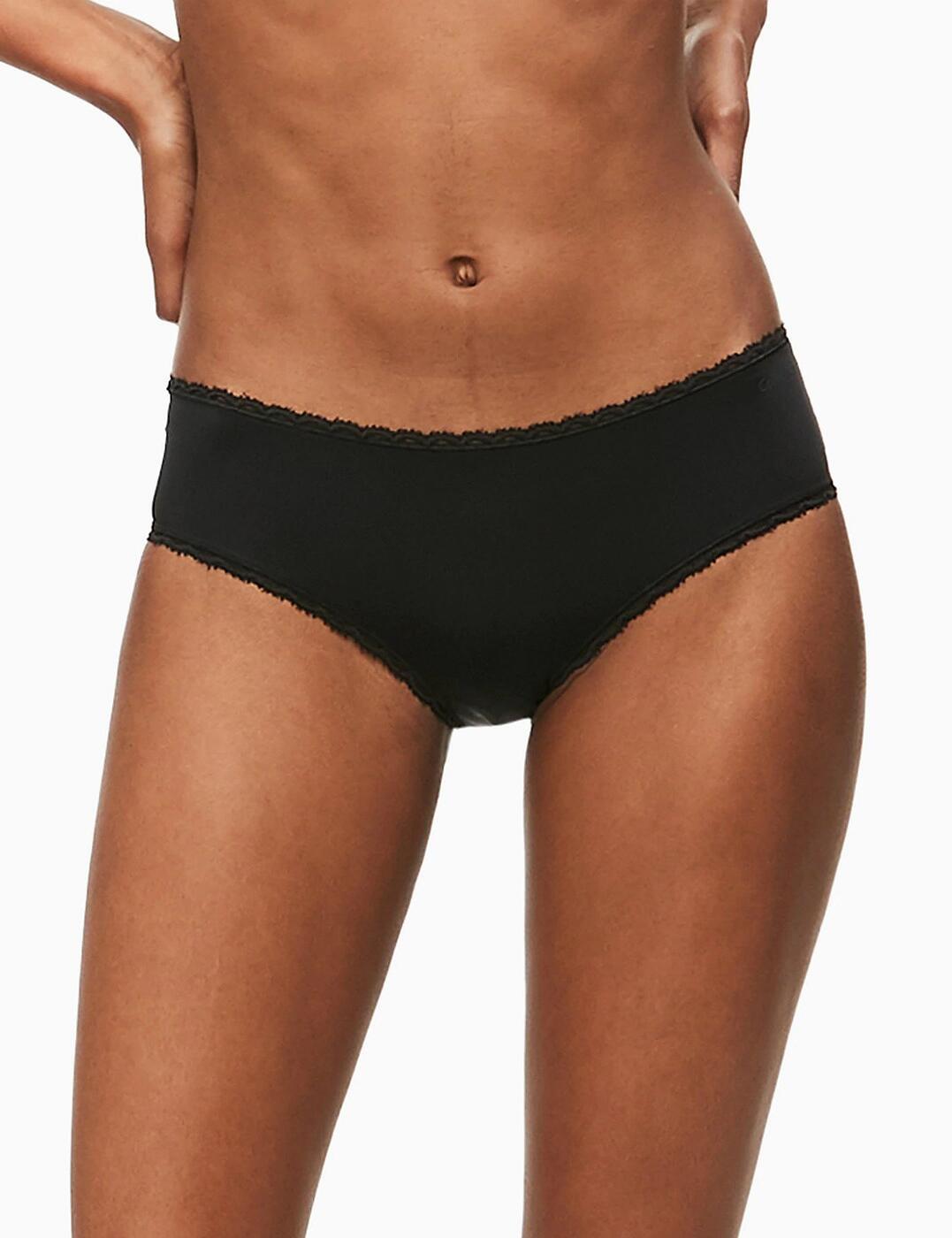 F2912E Calvin Klein Seductive Comfort Hipster Brief - F2912E Black