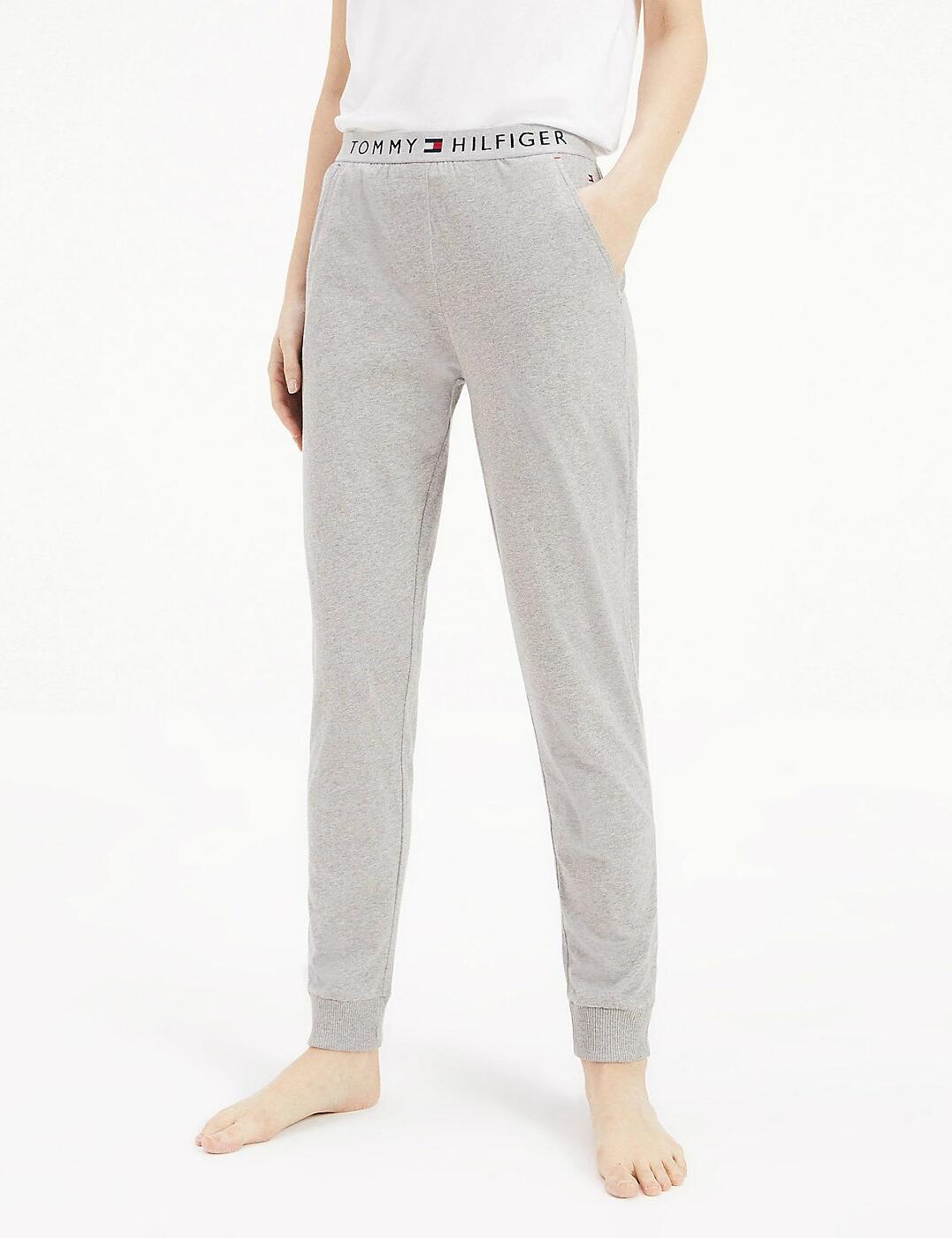UW0UW01647 Tommy Hilfiger Cuffed Pants - UW0UW01647 Grey