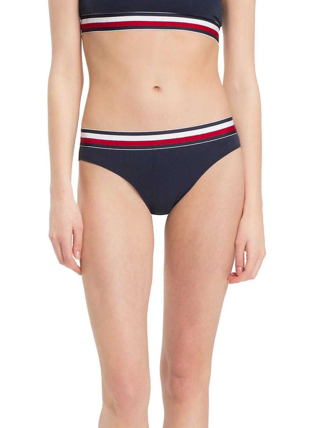 UW0UW00428 Tommy Hilfiger Cotton Bikini Style Brief - UW0UW00428  Navy Blazer