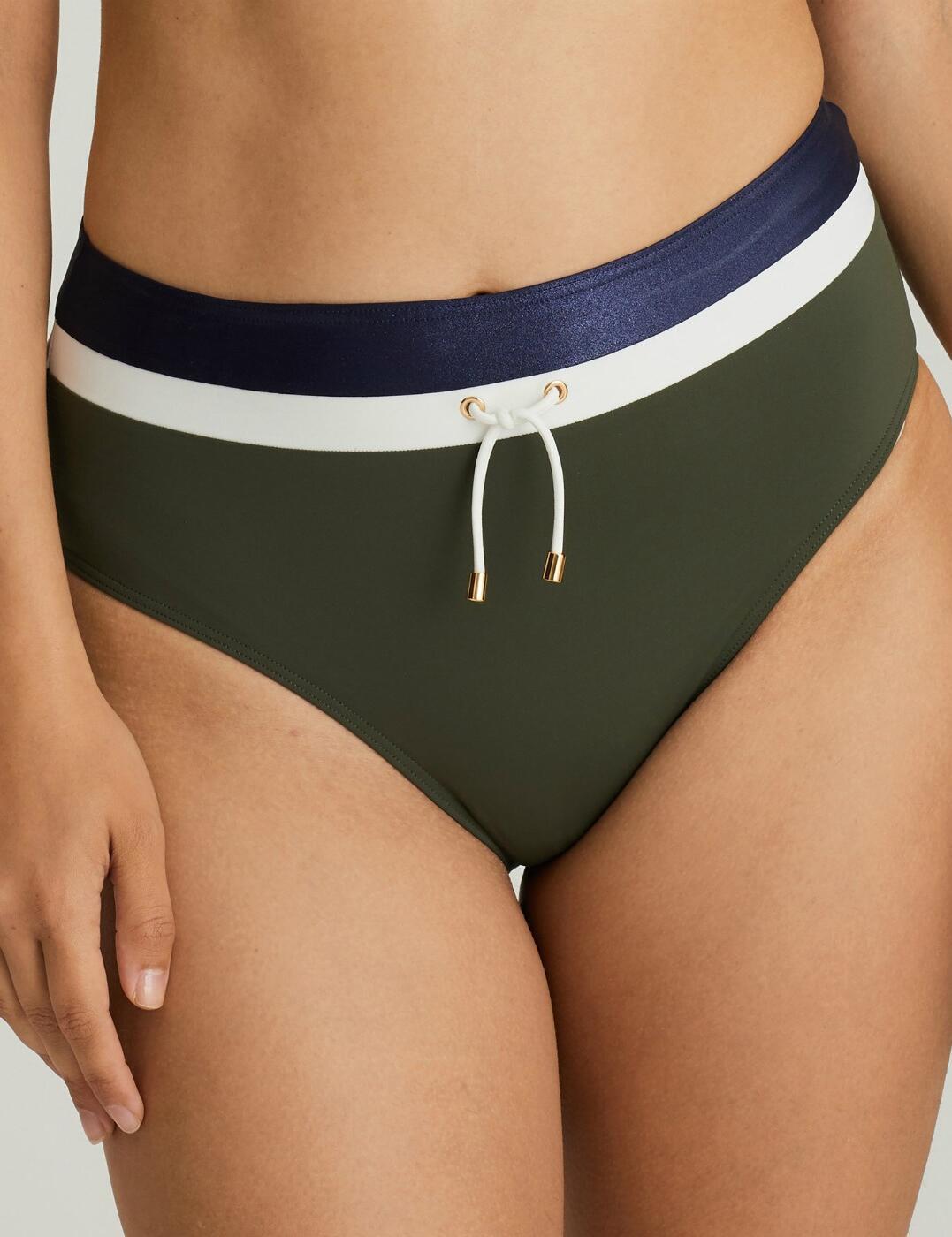 4002051 Prima Donna Ocean Drive Full Bikini Brief - 4002051 Dark Olive