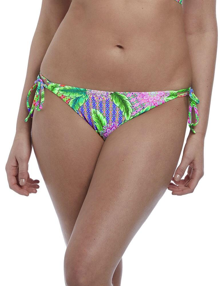 6665 Freya Zamba Rio Tie Side Bikini Brief - 6665 Multi