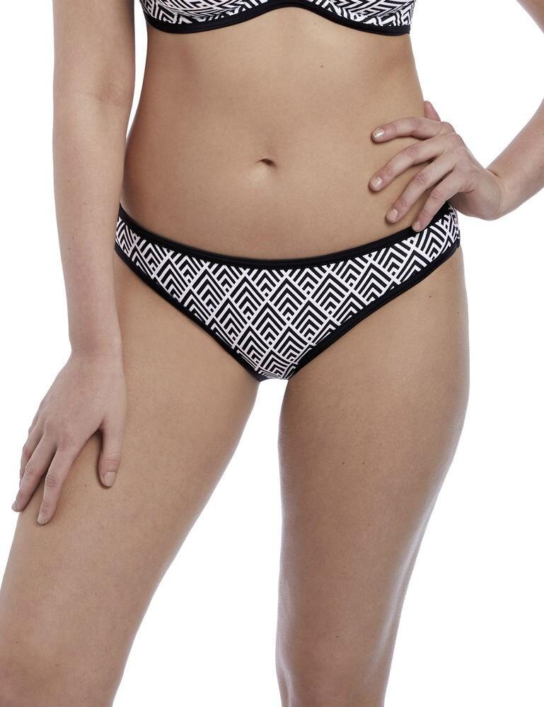5864 Freya Gatsby Classic Bikini Brief - 5864 Monochrome