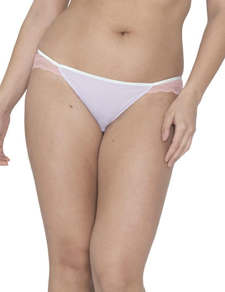 CK016202 Curvy Kate Flutterby Brazilian Brief - CK016202 Lilac/Pink